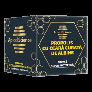 Crema super protectiva de propolis cu ceara curata de albine A.S