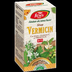 Vermicin cu miere şi propolis, D73, 100 ml sirop