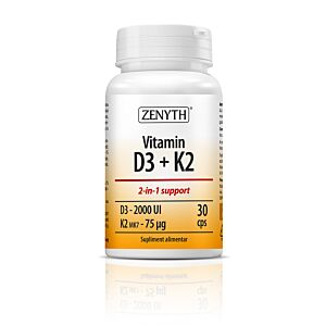 Vitamin D3 + K2 30 capsule