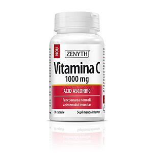 Vitamina C 1000 mg, 30 capsule