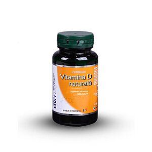 Vitamina D naturală 60cps DVR Pharm