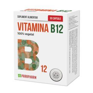 Vitamina B12 30 cps-PARAPHARM