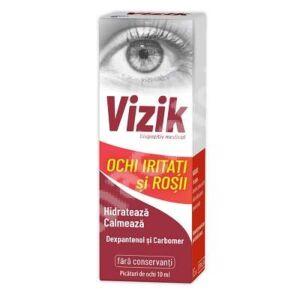 Picaturi pentru ochi iritati si rosii Vizik, 10 ml, Zdrovit