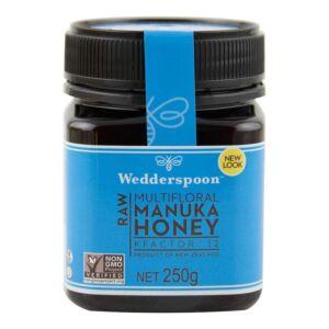 Miere de Manuka KFactor 12 RAW 250g - Wedderspoon