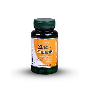 Zinc + Seleniu cu Vitamina C 60cps DV R Pharm